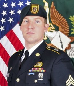 Staff Sgt. Matthew V. Thompson, 28, of Irvine, California, died Aug. 23, 2016, of wounds received from an improvised explosive device while on patrol in Helmand Province, Afghanistan. (Credit: U.S. Army photo via KSWB)