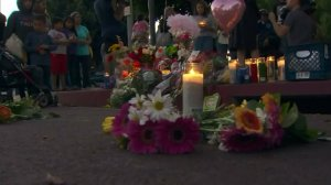 A vigil was held for Carina Mancera and Jennabel Anaya on Aug. 7, 2016. (Credit: KTLA)