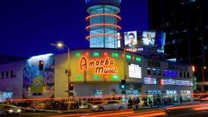 Amoeba Music on Sunset Boulevard is seen on Dec. 8, 2011. (Credit: Ricardo DeAratanha / Los Angeles Times)