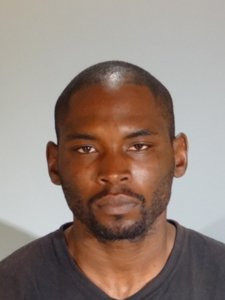 Alleged Santa Monica purse snatcher Louis Bradford is seen in a booking photo released by the Santa Monica Police Department.