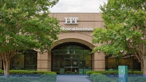 An ITT Technical Institute building is seen in an image posted to the company's Facebook page.
