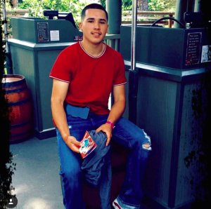 Gustavo Santana is pictured in a photo provided to KTLA.