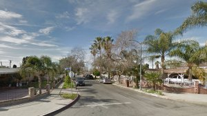 The 12900 block of Desmond Street is shown in a Google Maps Street View image.