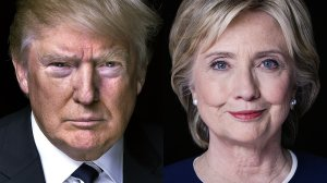 Presidential candidates Donald Trump and Hillary Clinton. (CREDIT: CNN)