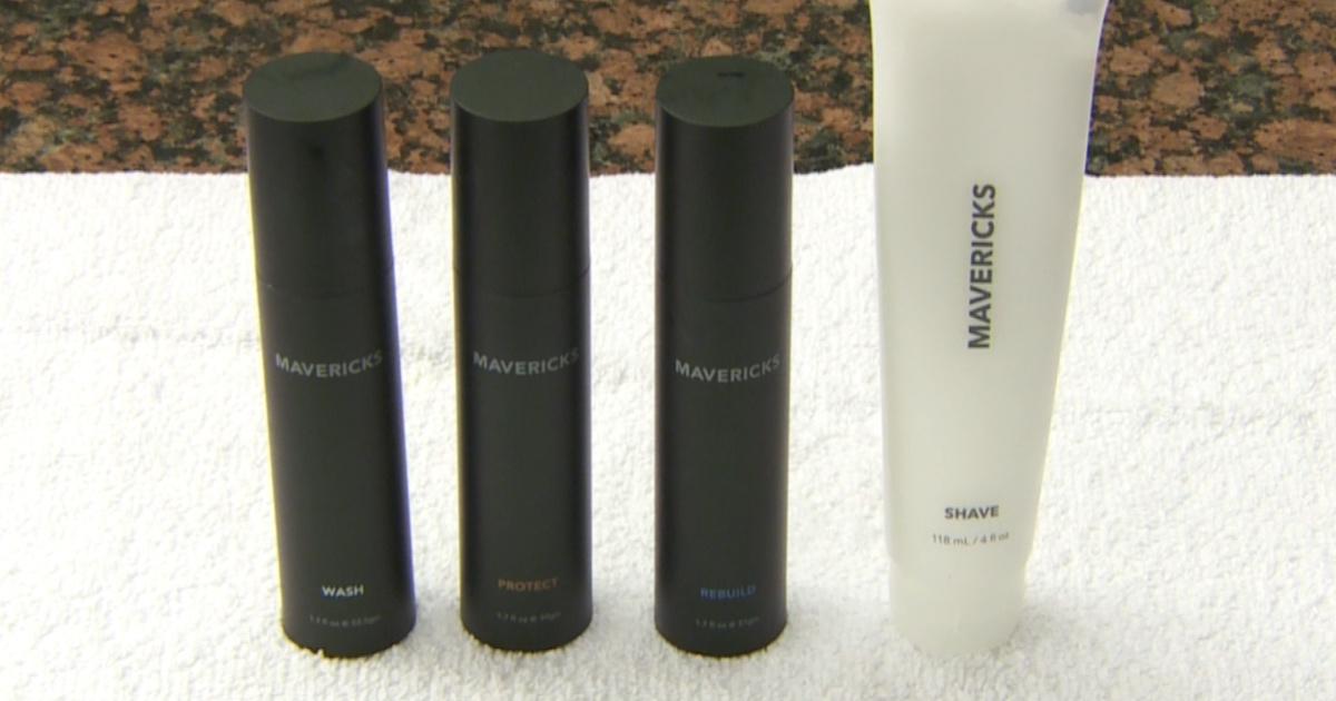 mavericks skin care line ktla rich on tech