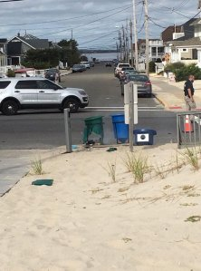 No injuries were reported after an explosive device went off at Seaside Park in New Jersey on Sept. 17, 2016. (Credit: CNN)