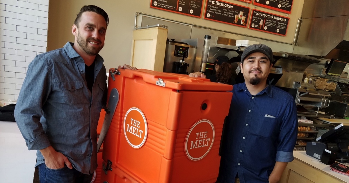 The Melt employees Mike Pavel and Jonathan Martinez