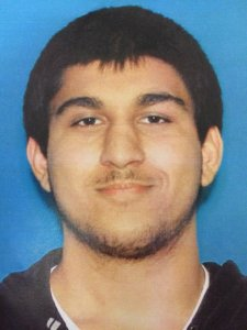 Suspect Arcan Cetin is shown in a driver's license photo released Sept. 24, 2016 by Sgt. Mark Francis.