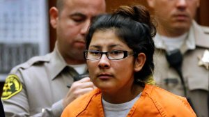 Alejandra Guerrero, shown at an earlier hearing, was convicted Oct. 13, 2016, of murder for her role in the 2014 killing of a USC graduate student. (Credit: Al Seib/ Los Angeles Times)