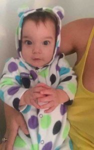 Emmaleigh Elizabeth Barringer is seen in a photo posted to a GoFundMe page.