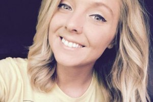 Carleigh Hager is shown in a photo posted to GoFundMe page for her.