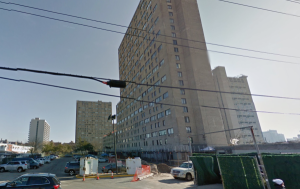 The building where the incident occurred is seen in a Google Maps street view image.