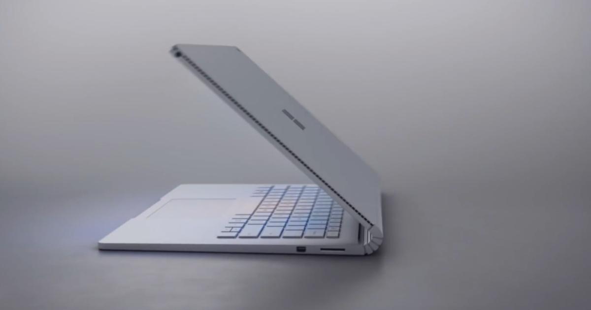 Microsoft Surface Book 2016