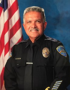 Officer Jose Vega is shown in a photo released Oct. 8, 2016, by the Palm Springs Police Department.