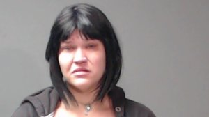 Crystal D. Hotlosz is seen in a mugshot released by the Beaver Police Department and obtained by KTLA sister station WJW.