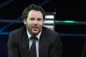 Napster co-founder, Sean Parker, General Partner of Founders Fund, talks at LeWeb 11 event in Saint-Denis, suburbs of Paris, on December 9, 2011. (Credit: ERIC PIERMONT/AFP/Getty Images)