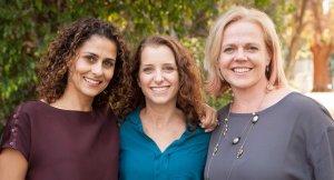 Founders Carolyn Yashari Becher, Joanna McFarland, and Janelle McGlothlin.