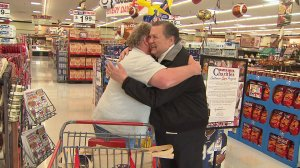 Jack Brown of Stater Bros. is shown in an image from a KTLA story from 2010.