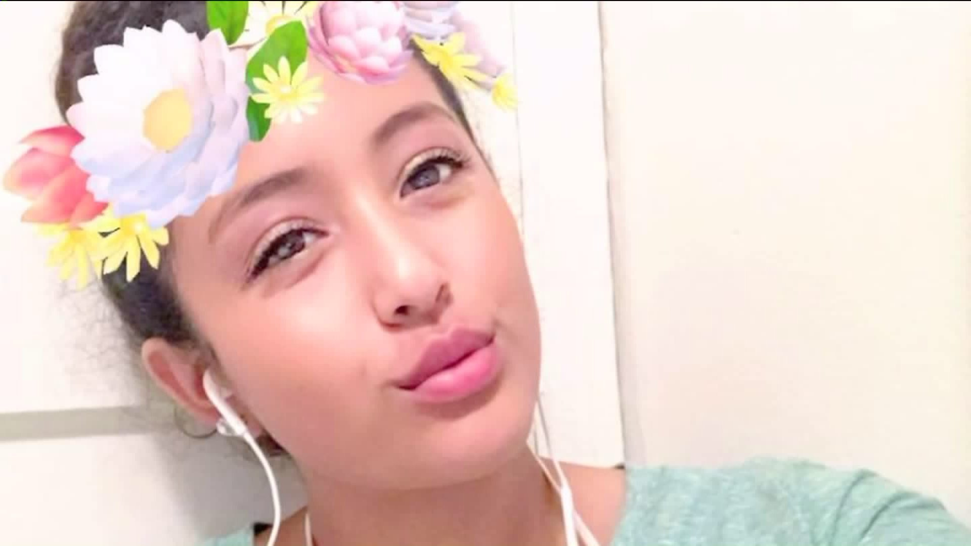 Danah Rojo Rivas, 16, is pictured in a Facebook photo.