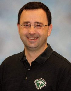 Larry Nassar is shown in a staff photo from his time at Michigan State University.