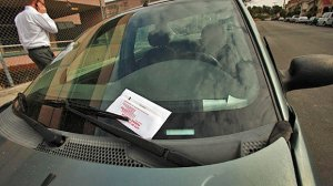 The Los Angeles Police Department and the city's Department of Transportation will relax the parking rules within a block of each polling place on Nov. 8, 2016. (Credit: Al Seib/Los Angeles Times)