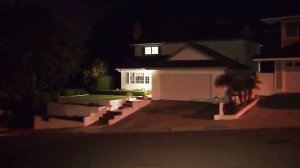 A man was tied up during a home-invasion robbery in Rancho Palos Verdes on Nov. 1, 2016. (Credit: KTLA)