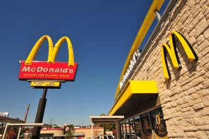 McDonald's customers will be able to place their customized order on a touch screen, take a seat and have their meal brought right over. (Credit: Rich Brooks/CNN)