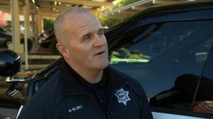 Benicia Police Cpl. Kirk Keffer is seen in this image provided by CNN.
