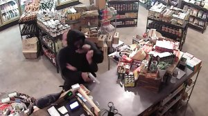 Surveillance video captured on Nov. 21, 2016, shows a Venice store owner fighting off a would-be armed robber.