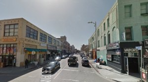 The 300 block of Wall Street in Los Angeles is shown in an undated Google Maps Street View image.