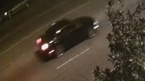 Anaheim Police Department officials released this photo of a vehicle believed to have been involved a street crash that eventually killed two people.