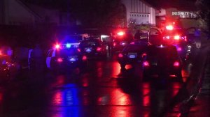 A man allegedly armed with a gun was shot and killed by deputies in Hacienda Heights on Dec. 16, 2016. (Credit: OnScene.TV)