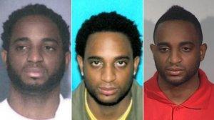 Marlon Jones is seen in photos released by the FBI on Dec. 1, 2016.