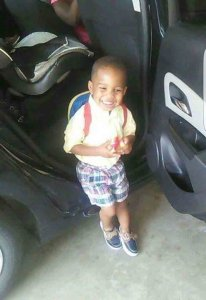 Photo of Acen King, 3, the shooting victim in an Arkansas road rage incident. (Credit:Terrance Long/Family Member)