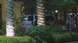 The whimpers of a Tempe toddler woke her parents who then found her in the arms of a stranger inside their home early Thursday morning. (Credit: KPHO)