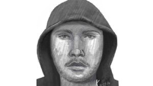 Riverside police released this sketch on Dec. 28 of a man wanted in a robbery and attempted sexual assault.