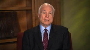 Sen. John McCain said Russia's election-related hacks threaten to 'destroy Democracy' and said America's response was 'totally paralyzed.' (Credit: CNN)