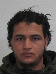 Federal prosecutor's office and the Federal Criminal Police Office in Berlin released this flyer of Anis Amri, the suspect in the Christmas market on Dec. 22, 2016.