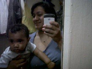 Felicia Barahona was found with a cord around her neck, her dead son in bathtub. (Credit: Facebook)