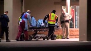 An Arizona trooper was injured after being shot and beaten by a gunman before a good Samaritan came to his head, authorities said. (Credit: KNXV)