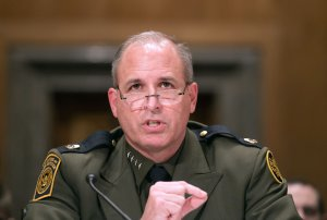 Mark Morgan, chief of the U.S. Border Patrol, testifies at a Senate Homeland Security and Governmental Affairs Committee hearing on Nov. 30, 2016. (Credit: NICHOLAS KAMM/AFP/Getty Images)
