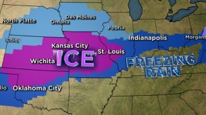 It's a dangerous set-up that the Central Plains of the US knows all too well, as they find themselves in the middle of cold, Arctic air blowing down from Canada and much warmer, humid air streaming in from the Gulf of Mexico. (Credit: CNN)