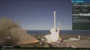 SpaceX successfully launched the Falcon 9 rocket on Jan. 14, 2017. (Credit: SpaceX)