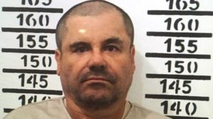 "Joaquin ""El Chapo"" Guzman appears in a mugshot released by prison officials following the drug kingpin's 2016 arrest."