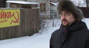 Sergey Bizyukin wants Godless Street in Russia's town of Ryazan renamed Donald Trump Street. (Credit: CNN)