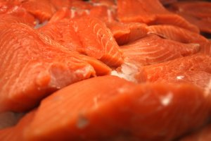 Researchers warn that salmon caught anywhere along the Pacific coast of North America may be infected. (Credit: Ferre' Dollar/CNN)