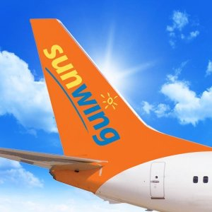 A pilot who allegedly passed out in the cockpit of a Boeing 737 in Canada was arrested on suspicion of being drunk, police said. (Credit: Sunwing)