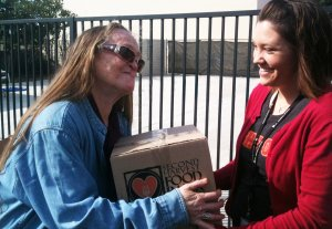 The Orange County Rescue Mission made an urgent plea for food donations on Feb. 21, 2017. (Credit: OCRM)