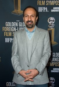 Director Asghar Farhadi attends the Golden Globe Foreign Language Film Symposium Presented by The Hollywood Foreign Press Association on Jan. 7, 2017 (Credit: Valerie Macon/AFP/Getty Images)
