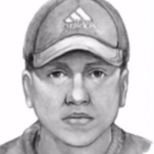 An armed robber who attacked a teenage girl at a Torrance ATM is seen in a sketch provided by the Torrance Police Department.
